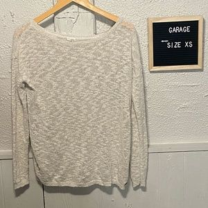 Womens Size XS Garage Light Sweater